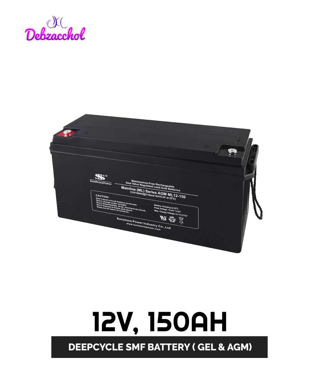12V 150AH DEEPCYCLE SMF BATTERY