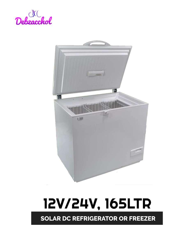 12V/24V 165LTR SOLAR DC REFRIGERATOR/FREEZER (SUNDANZER)