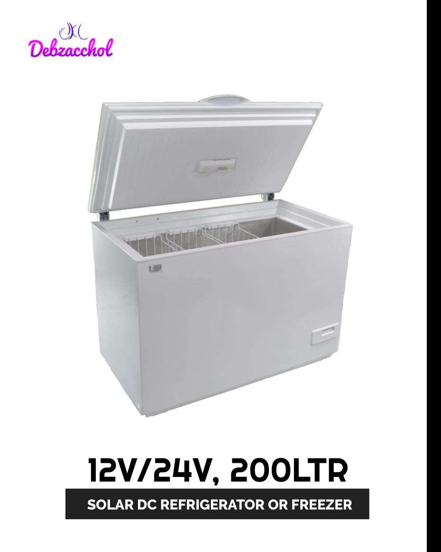 12V/24V 200LTR SOLAR DC FREEZER OR REFRIGERATOR  (SUNDANZER USA)