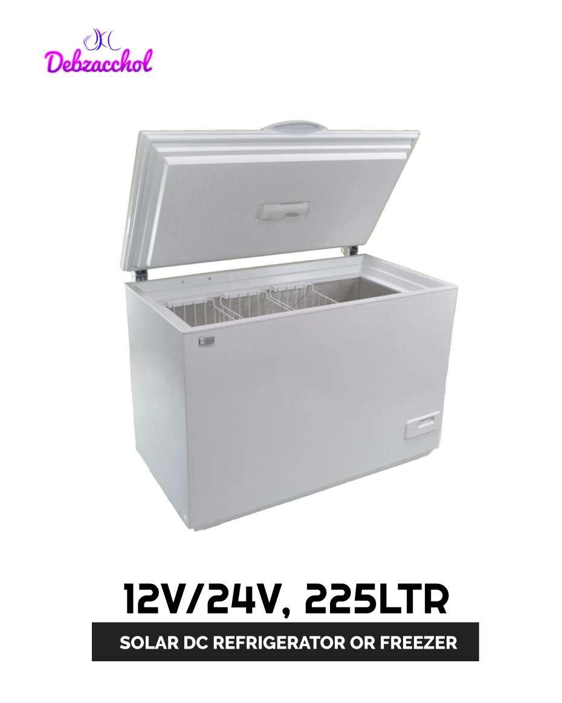 12V/24V 225LTR SOLAR DC REFRIGERATOR OR FREEZER (7.9 CU FT SUNDANZER )