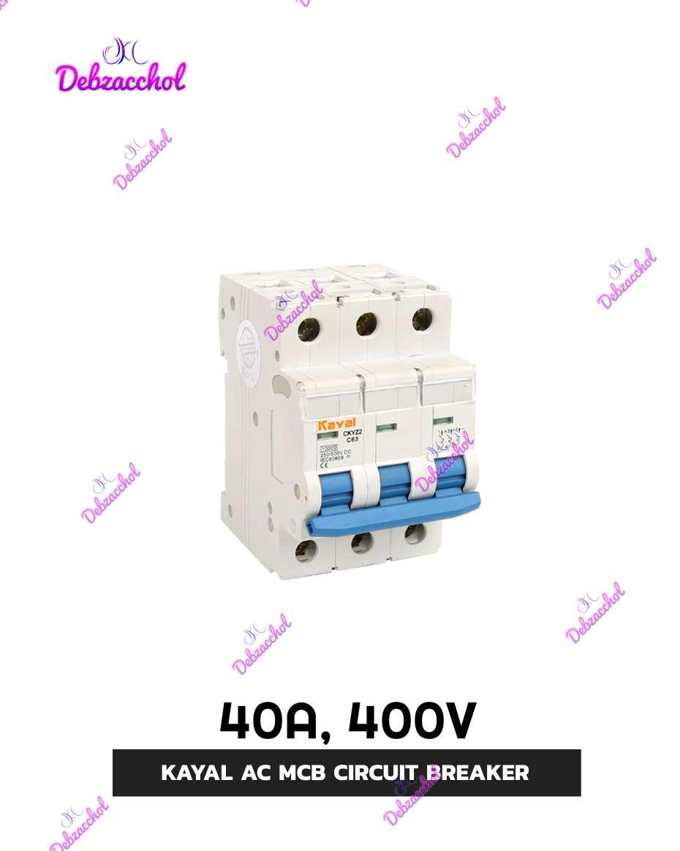 40A,400V TRIPOLES MCB(KAYA AC MCB CIRCUIT BREAKER