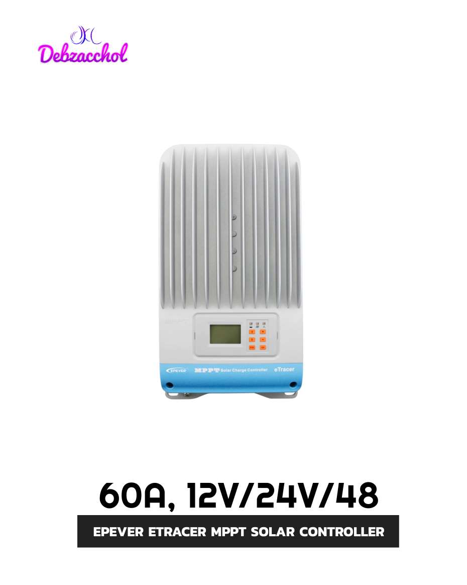 EPEVER ETRACER MPPT CHARGE CONTROLLER 12/24/48V 60A
