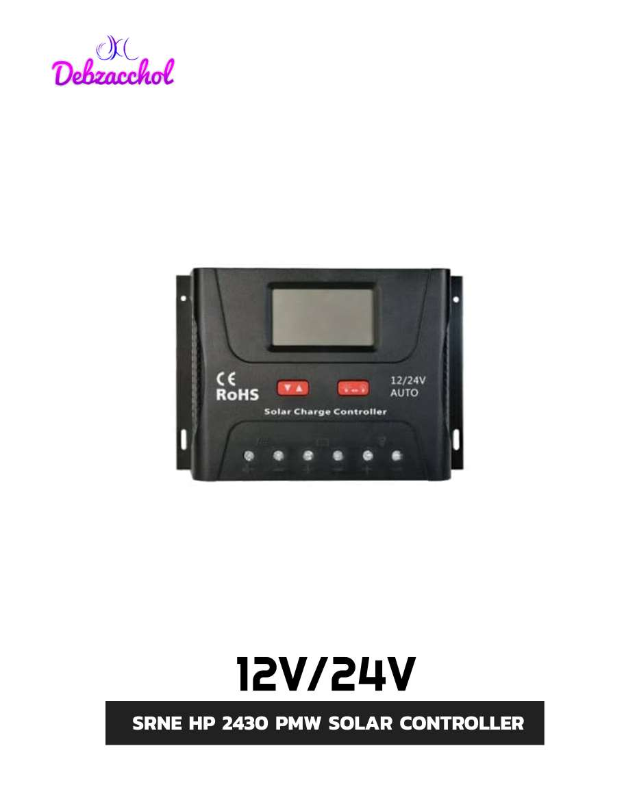 SR HP 24030 PWM 12/24V AUTO SOLAR CHARGE CONTROLER WITH LCD DISPLAY